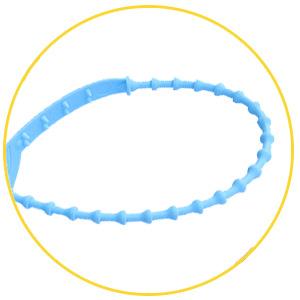 Thân dây kẹp chì nhựa tùy chỉnh độ dài